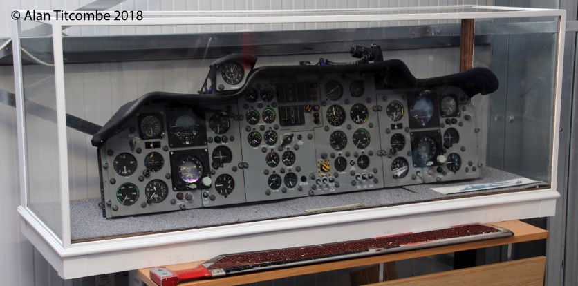 Westland Wessex helicopter instrument panel