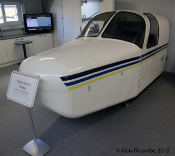 B.N. Islander cockpit