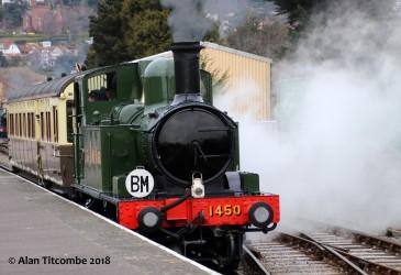 Class 14xx r/n 1450 - Location 1