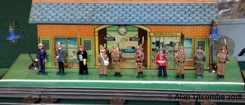 Dad's army - waiting for the Royal Train