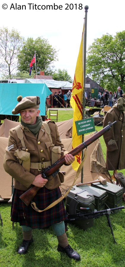 WW2 - British Queen's Own Cameron Highlander