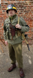 "WW"" - US Militray Police"
