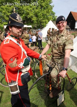 Penny for them? Victorian Soldier shows 21st Soldier contemporary transport