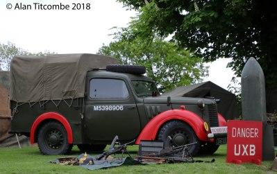 WW2 - British Hillman Light Utility Car 10 HP