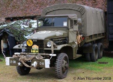 WW2 - American GMC CCKW-353 2 1/2 Ton Truck