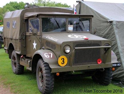 WW2 - British Bedford 15cwt Truck
