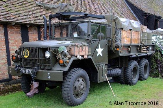 Vietnam - American Reo M352 1/2 ton truck