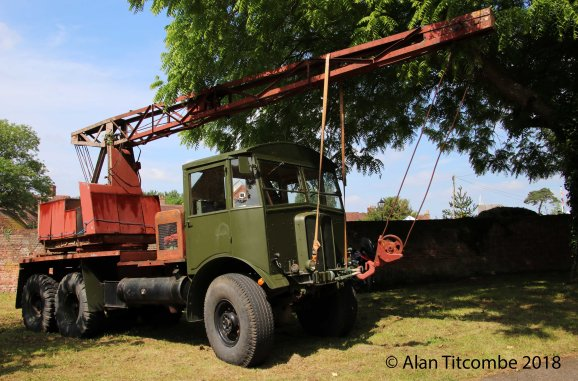 AEC 854 with Coles Crane