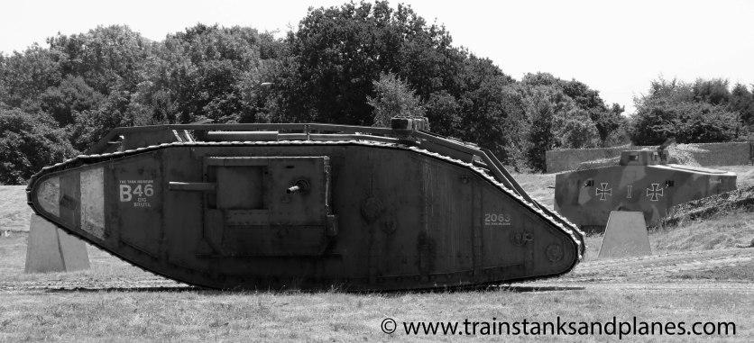 Mk IV & A7V (both replica tanks)
