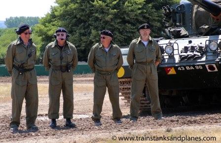 Centurion Mk 12 crew
