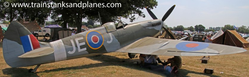 Replica Mk XVI Spitfire finished as Johnnie Johnson's aircraft
