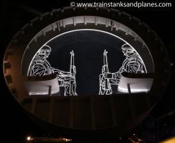Inside the Horsa glider