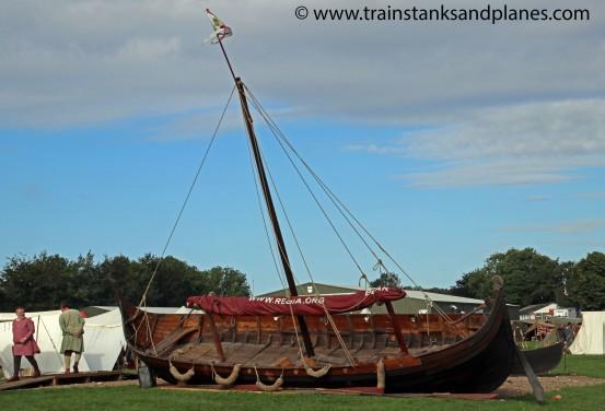 Viking Log Ship