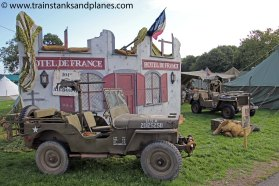 "Jeep ""Somewhere in France - late 1944"""