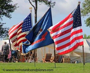 Union Battle Flags - American Civil War