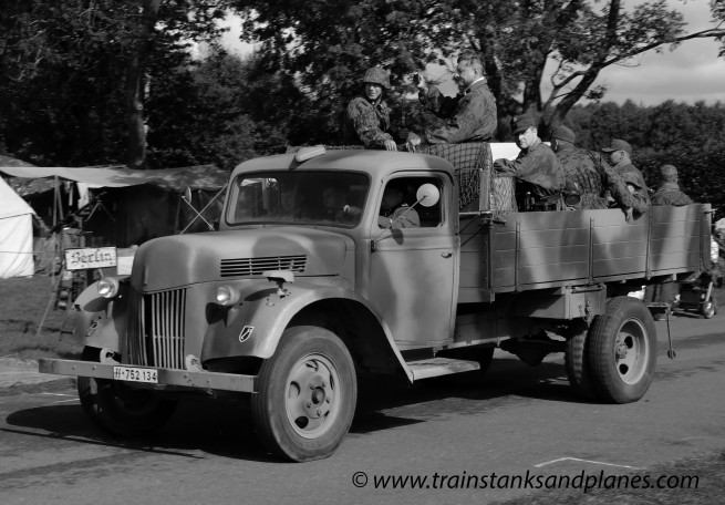 Opel Blitz truck - German WW2