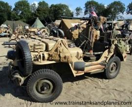 LRDG Jeep - British WW2