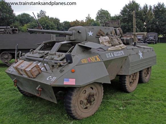 M8 Grey Hound armoured car - American WW2