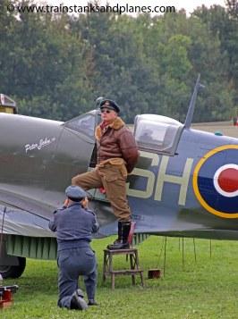 Spitfire Mk IX (replica)