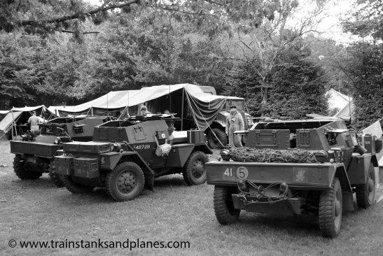 Daimler Dingo Scout Cars