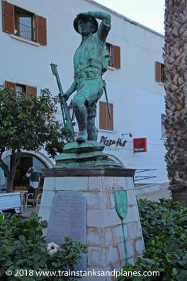 Monument to the Gibraltar Defence force