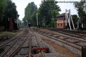 View of standard & broad gauge tracks
