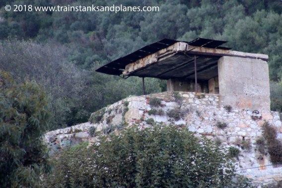 Worl War II battery observation post