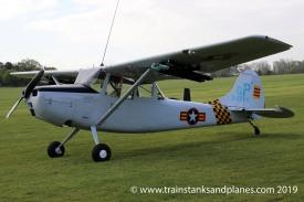 Cessna O1-E Bird Dog - G-PDOG