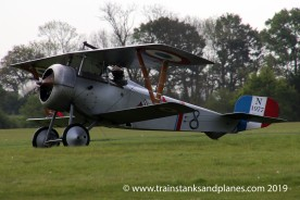Nieuport 17 replica - G-BWMJ