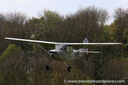 Cessna O1-E - Bird Dog - G-JDOG