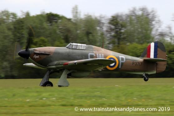 Hawker Hurricane Mk 1 - Shuttleworth Resident