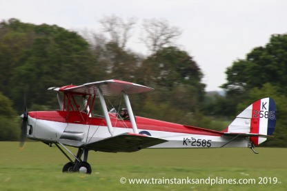 De Havilland DH82a Tiger Moth - Shuttleworth Collection