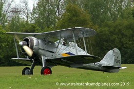 Gloster Gladiator I - Shuttleworth Collection