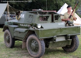 2014 Show - British Daimler Dingo armoured car