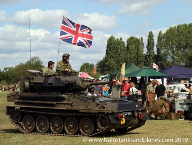 2014 Show - British Scorpion light tank