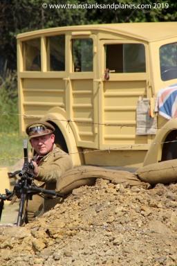 2015 Show - British Humber Snipe WW2 Western desert