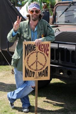 2015 Show - Vietnam era peace protester