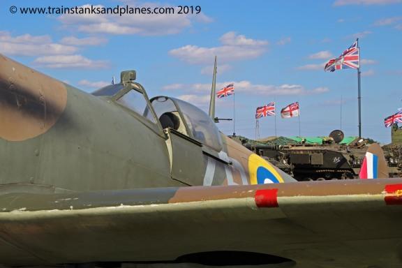 2016 Show - British Spitfire (replica)