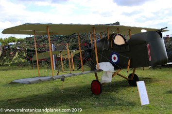 2017 Show - British DH2 WWI fighter