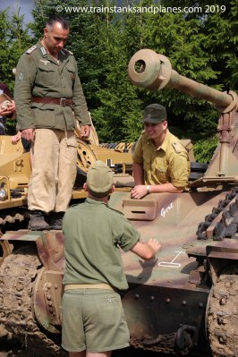 2017 Show - German self-propelled gun crew