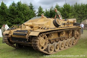 2017 Show - German StuG III (extremely rare running original vehicle)