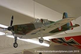 MS 406 fighter plane model