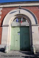 Original entrance to the prison