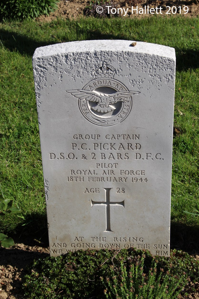Pickards resting place