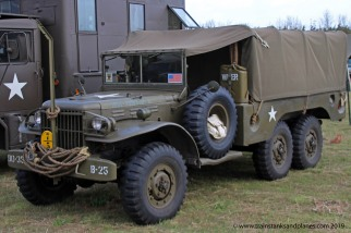 Dodge Weapons Carrier - 6 wheeled variant