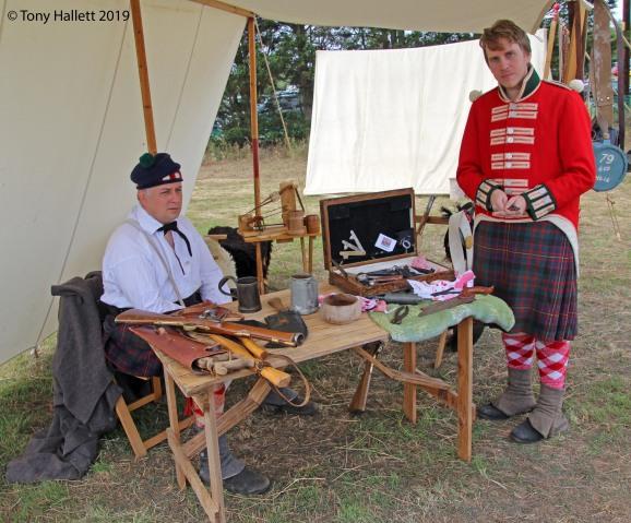 British Napoleonic soldiers