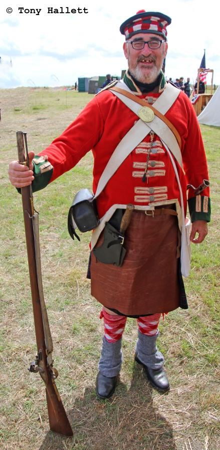 British Napoleonic soldier