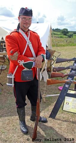 British Victorian soldier