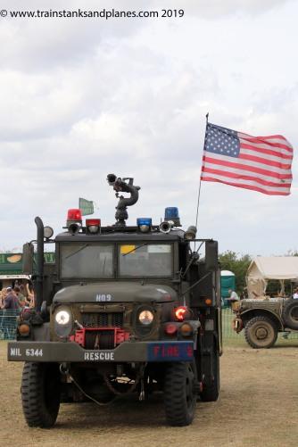 REO M35 Fire Truck