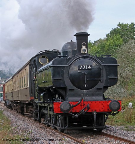 57xx Class 0-6-0PT r/n 7714 - Location 1